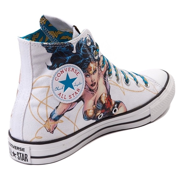 7b0df68447e9 Converse Shoes - CONVERSE Wonder Woman DC Comics Hi Top Sneakers